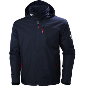Helly Hansen Crew Hooded Midlayer Jacket Men, navy